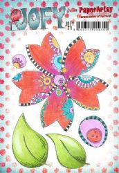 PaperArtsy Stamp - JOFY Collection JOFY71